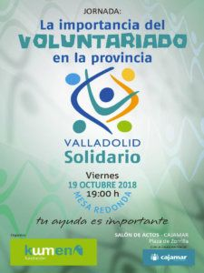 importancia voluntariado Valladolid