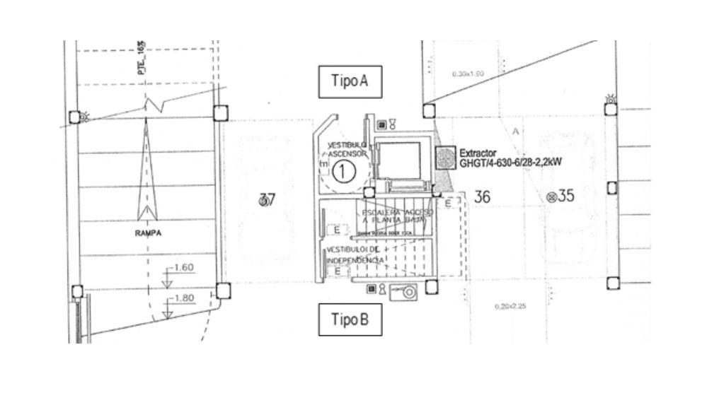 plano garaje