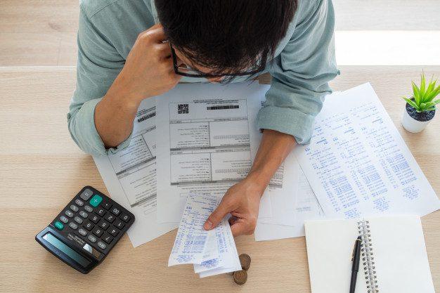 empresario inquietudes financieras